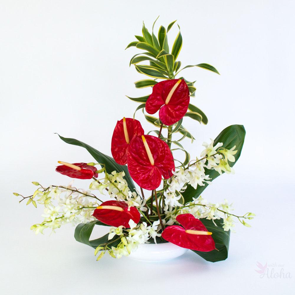 Aloha \'Love\' - Hawaiian Flower Assortment