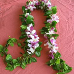 Vine and Leaf Leis