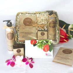 Hawaiian stress release spa gift basket