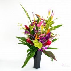 large Hawaiian flower assortment 26 stems